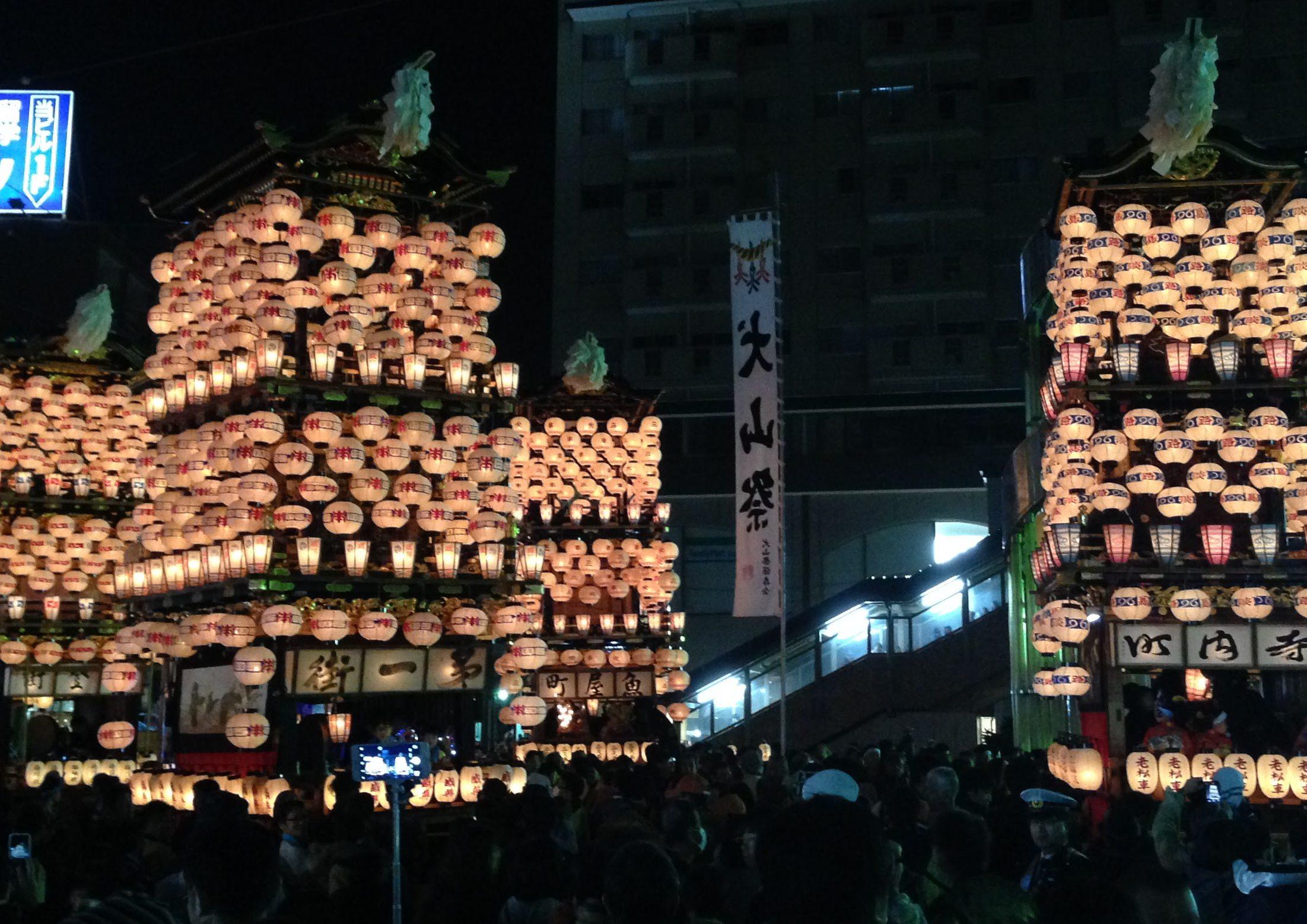 ユネスコ無形文化遺産に登録された犬山祭